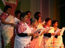 Singing group of Israeli women from Kerala